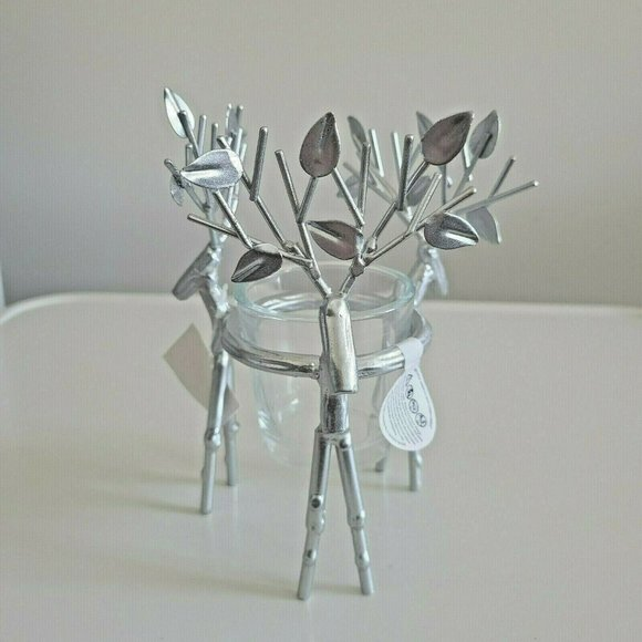 Yankee Candle Votive Tealight Holder Stand Silver